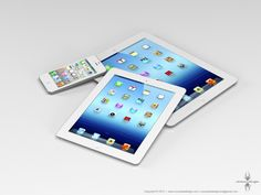 """Confirmed: New iPad Mini to Debut in October, After Latest Apple iPhone's September Bow • """"Apple's next generation iPhone and its so-called 'iPad mini' will debut at two separate events this fall, rather than a single one as has been widely speculated, according to several sources.  First comes the latest iteration of the tech giant's hugely popular smartphone, which will be unveiled at an as yet unannounced event on September 12."""" • by John Paczkowski • Ciccarese Design"""