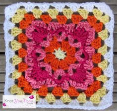 Knot Your Nana's Crochet: Granny Square CAL (Week 9)
