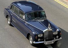 """crazyforcars: """"Rolls-Royce Phantom VI. The Phantom V/VI were likely the most luxurious and imposing cars in the world during their production run of 1960-1991. Other limos might've been longer..."""