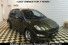 Smart Forfour (04-06) 1.3 Pulse 5d For Sale - Martin Atkinson Cars, SCUNTHORPE