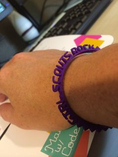 We're thrilled to be a part of an exciting initiative that Google recently announced—Made With Code—which aims to change the way girls think about coding, and inspire them to consider careers in computer science. Be sure to check it out, and don't forget to code your own FREE 3D printed bracelet! #madewithcode #GirlScoutsRock http://bit.ly/1qambn9