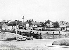 Station Road and Walton Crescent, Carlton, c 1950s