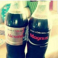 #malec #Alexander #Magnus #coke @cocacola #bottle #love