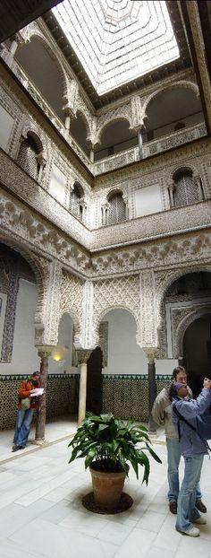 Sevillia - Alcazar Palast, Spain by Von Marco Relling
