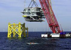 Borkum Riffgrund 1 Offshore Electrical Substation (Courtesy DONG Energy).