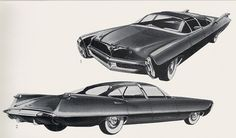 retro future 1960s | Drawings from the Great Age Future Retro: of Automobiles
