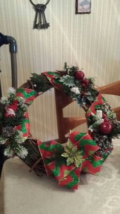 Christmas/winter Solstice wreath