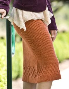 Althea Skirt - Knitting Patterns and Crochet Patterns from KnitPicks.com