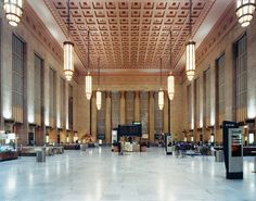 30th Street Station, Philadelphia. I took Amtrak from Philadelphia to New York, DC, Lancaster, West Chester, and Miami Florida.  I loved taking the train.