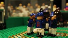 """CHICAGO - If you are trying to find another unique tribute to the World Series champion Cubs, then a production company in Atlanta has something for you.  In honor of the team ending their 108-year title drought, """"thefourmonkeys"""" production company decided to recreate the team's memorable Game 7 with Legos."""