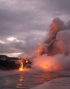 VIDEO: Where Big Island of Hawaii lava meets the sea by John Heckathorn | HAWAII Magazine | Hawaii news, events, places, dining, travel tips & deals, photos | Oahu, Maui, Big Island, Kauai, Lanai, Molokai: The Best of Hawaii