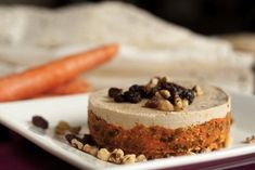"""11. Maybe a raw carrot cashew """"cheese"""" cake for dessert. 