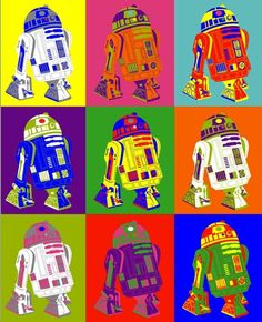 Droid by Andy Warhol #PopArt➕More Pins Like This At FOSTERGINGER @ Pinterest✖️