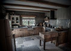 Landelijke Keuken Met Een Hoffz Inrichting....