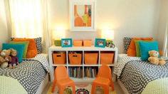 Adorable Gender Neutral Kids Bedroom Interior Idea (12)