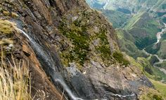 Tugela Falls - 947 m ft) highest waterfall in Africa, highest in the world. South Africa, Two By Two, National Parks, African, Mountains, Country, Waterfalls, World, Landscapes