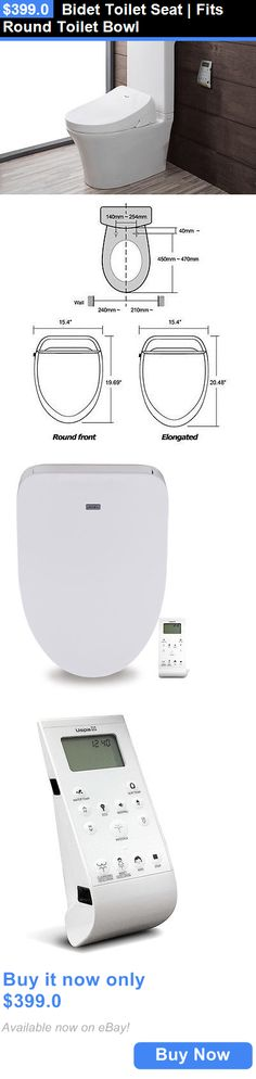 Bidet and Toilet Tissue Aids: Bidet Toilet Seat | Fits Round Toilet Bowl BUY IT NOW ONLY: $399.0