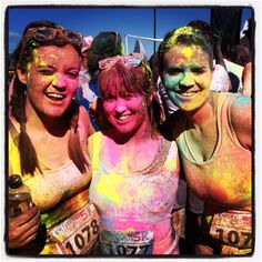 """Can't wait for this in july. """"Color Me Rad 5K"""""""
