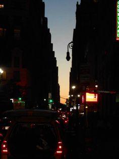 35th Street New York Sunset