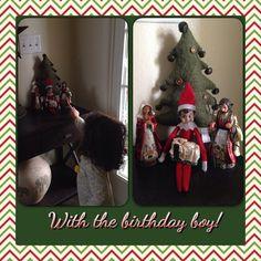 Celebrating with the birthday boy!