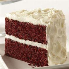This red velvet cake looks delicious