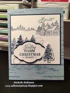 MLB Creations: Christmas in July Week 4 Homemade Christmas Cards, Stampin Up Christmas, Christmas Cards To Make, Christmas In July, Christmas Wishes, Xmas Cards, Homemade Cards, Holiday Cards, Unicorn Christmas