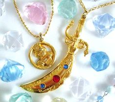 SAILORMOON セーラータリスマンスペースソード    (Sailor Talisman Pendant)    Very cool replica of Sailor Uranus' Space Sword from the Sailor Moon anime and manga!