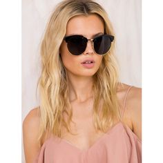 a403fa43fa92 The Zander Sunglasses ( 21) ❤ liked on Polyvore featuring accessories