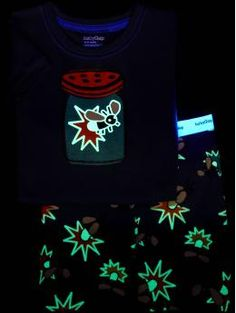 glow in the dark pajamas!