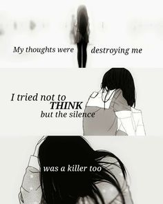 The Most Famous Anime Quotes of All Time Sad Anime Quotes, Manga Quotes, Dark Quotes, Depression Quotes, Anime Depression, Les Sentiments, Anime Life, In My Feelings, True Quotes