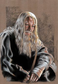 Gandalf_ The Gray by ~Buchemi on deviantART ~ LOTR