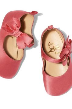 Louboutin Is Now Making Shoes for Babies and, You Guessed It, They're Not Cheap via @PureWow