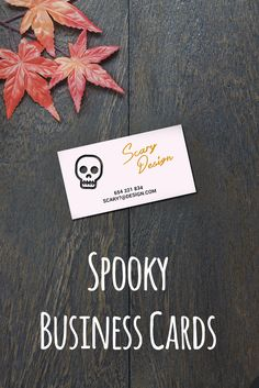 71 best business cards images on pinterest attract new customers by creating spook tacular business cards like these ones reheart Image collections