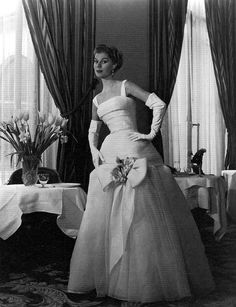 Jacques Fath, photo by Willy Maywald, 1955