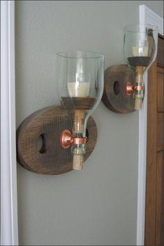 Conjunto de lámpara luz de las velas de por WoodsmithOfNaples