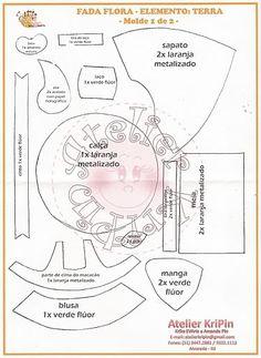 LAS MANUALIDADES DE CLAUDIA (TODO SACADO DE LA WEB): FOFUCHAS Y MOLDES