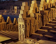 """Persepolis literal meaning """"city of Persians"""", was the ceremonial capital of the Achaemenid Empire(ca. Persepolis is situated 70 km northeast of city of Shiraz Ancient Persian, Ancient Greek, Ancient Ruins, Ancient Art, Ancient History, Art History, Persian Architecture, Art And Architecture, Ancient Mesopotamia"""
