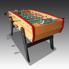 Sulpie Foosball table from The Games Room Company's selection of Table Foosball Boys Game Room, Game Room Tables, Table Football, Entertainment Centers, Perfect Gift For Him, Poker Table, Bobs, March, Soccer