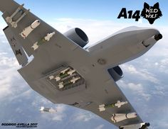 Concept for a successor to the Thunderbolt II-Warthog for close air support missions.This concept has a variant of attack with modified wings and small rudders.Sixth generation fighter.Next generation air dominance. Military Jets, Military Weapons, Military Aircraft, Stealth Aircraft, Fighter Aircraft, Air Fighter, Fighter Jets, Close Air Support, Airplane Fighter