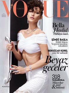 N Bella Hadid pela primeira vez numa capa da Vogue | SAPO Lifestyle