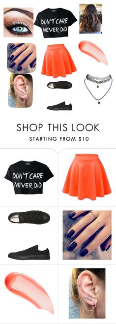 """""""Shopping with ur Bffs"""" by lillilykitty ❤ liked on Polyvore featuring Converse, Lottie, NARS Cosmetics and Wet Seal"""