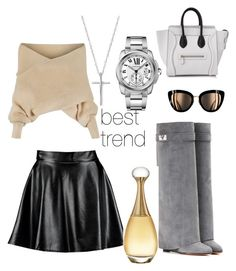 Designer Clothes, Shoes & Bags for Women Cartier, Boohoo, Christian Dior, Givenchy, Celebrities, Polyvore, Stuff To Buy, Shopping, Design