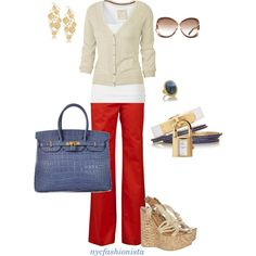 """day or night"" created by nycfashionista on Polyvore"