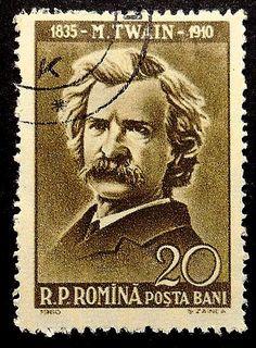 Resultado de imagem para SELO DE Mark Twain