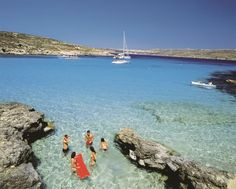 Blue Lagoon - Beaches & Bays in Malta - Visitmalta - The official tourism website for Malta, Gozo and Comino. Places Around The World, Oh The Places You'll Go, Places To Travel, Places To Visit, Around The Worlds, Dream Vacations, Vacation Spots, Tourist Spots, Beautiful Islands