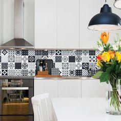 Smart Tiles Vintage Evora Parement Mural Deco Carrelage Faience Cuisine