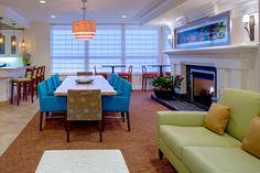 The 11th floor lobby inside the Hilton Garden Inn French Quarter - New Orleans, LA