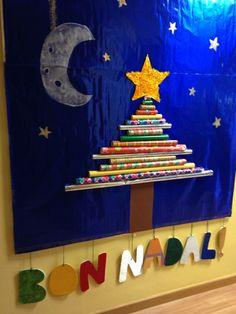 Arbre de Nadal i lletres de textures Christmas tree