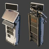 """Made in 6 hours for my personal design challenge """"One model per day"""" in Modo."""