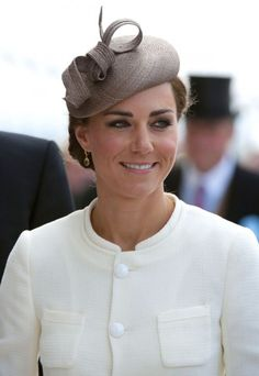 The Duchess of Cambridge still had that newlywed glow at the Epsom Derby in June 2011, which was nicely complemented by her Philip Treacy hat and cream Joseph ensemble. Perfection.